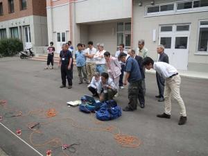 2.地盤探査実習