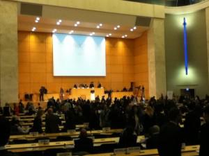 国連欧州本部本会議場