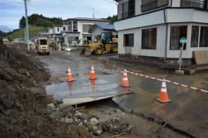山田町田の浜地区の被害状況2