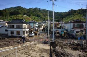 山田町田の浜地区の被害状況1