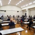 会場参加は市内の自主防災組織限定でした
